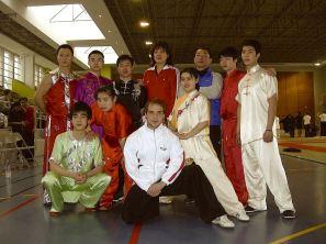 Entraînement Equipe de Shanghai