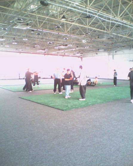 Ma toute première salle d'entraînement à Beijing