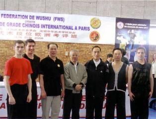 Maîtres Xia Baihua Wu Bin et Zhang Shan