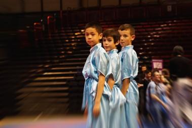 Evan, Orian et Lucas en attente de leur note