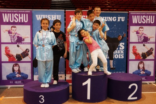 Team Junior Podium