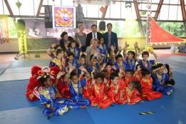 Gala Wushu 2017 de l'Ecole Bernard Sok